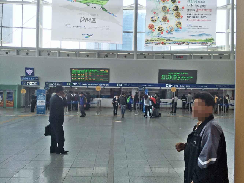 ソウル駅中